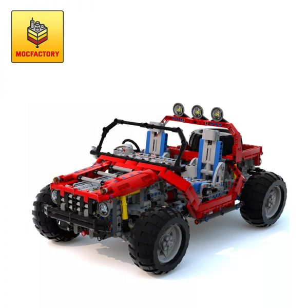 MOC 5611 Steppenwolf by Didumos MOC FACTORY - MOC FACTORY