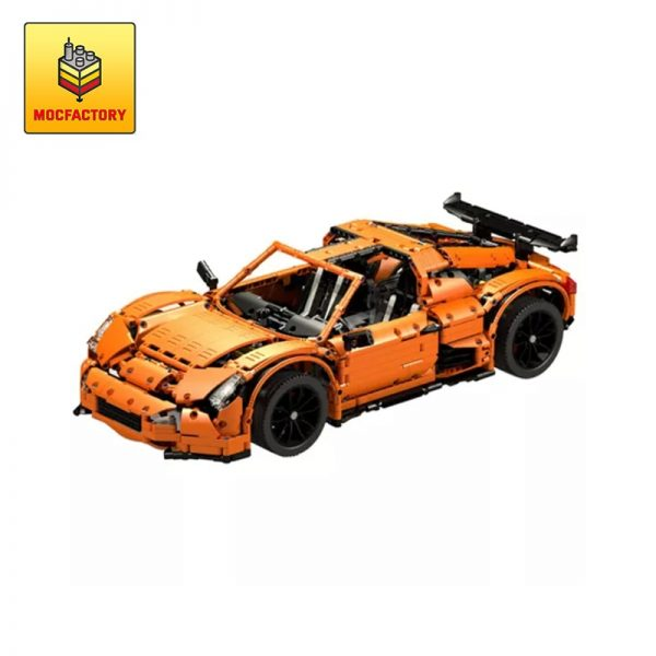 MOC 6214 Scorpion CK R Supercar by Crowkillers MOC FACTORY - MOC FACTORY