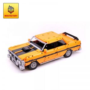 MOC 6296 1971 Ford Falcon XY GTHO III by doc brown MOC FACTORY - MOC FACTORY