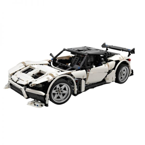 MOC 9613 Volcano RS Supercar by Charbel MOC FACTORY 3 - MOC FACTORY