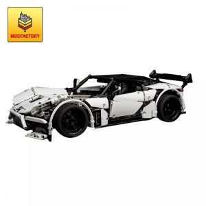 MOC 9613 Volcano RS Supercar by Charbel MOC FACTORY - MOC FACTORY