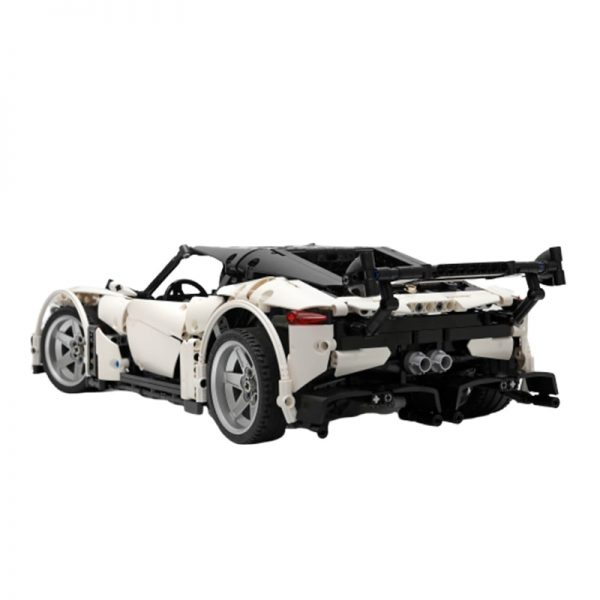 MOC 9613 Volcano RS Supercar by Charbel MOC FACTORY 4 - MOC FACTORY