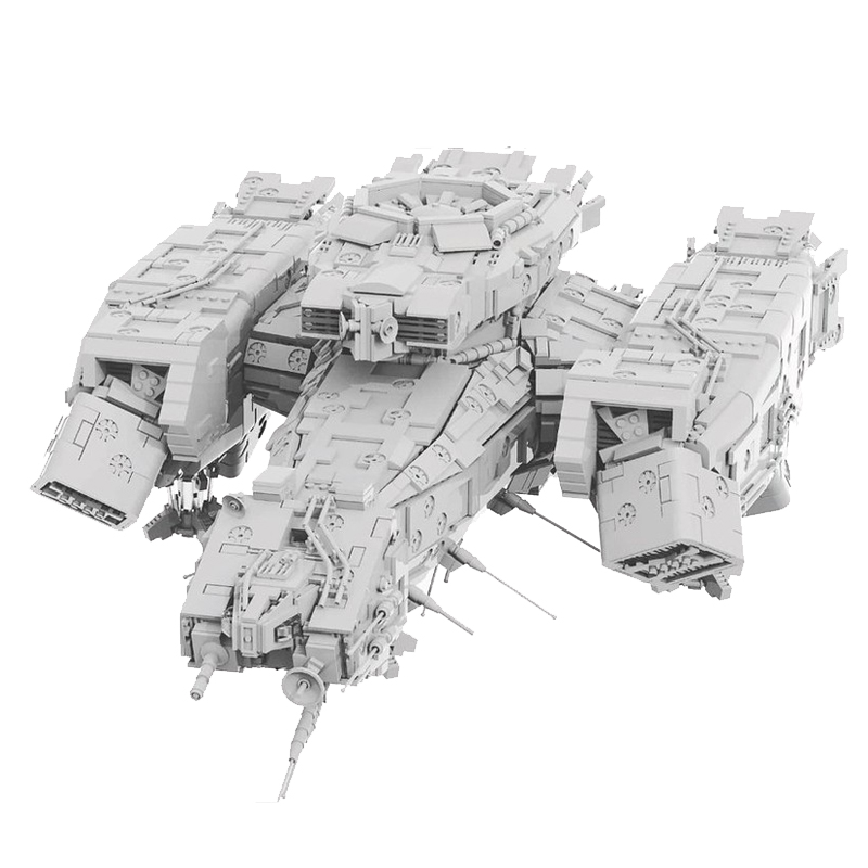 MOC 9803 USCSS NOSTROMO Space by Mihe Stonee MOC FACTORY 2 - MOC FACTORY
