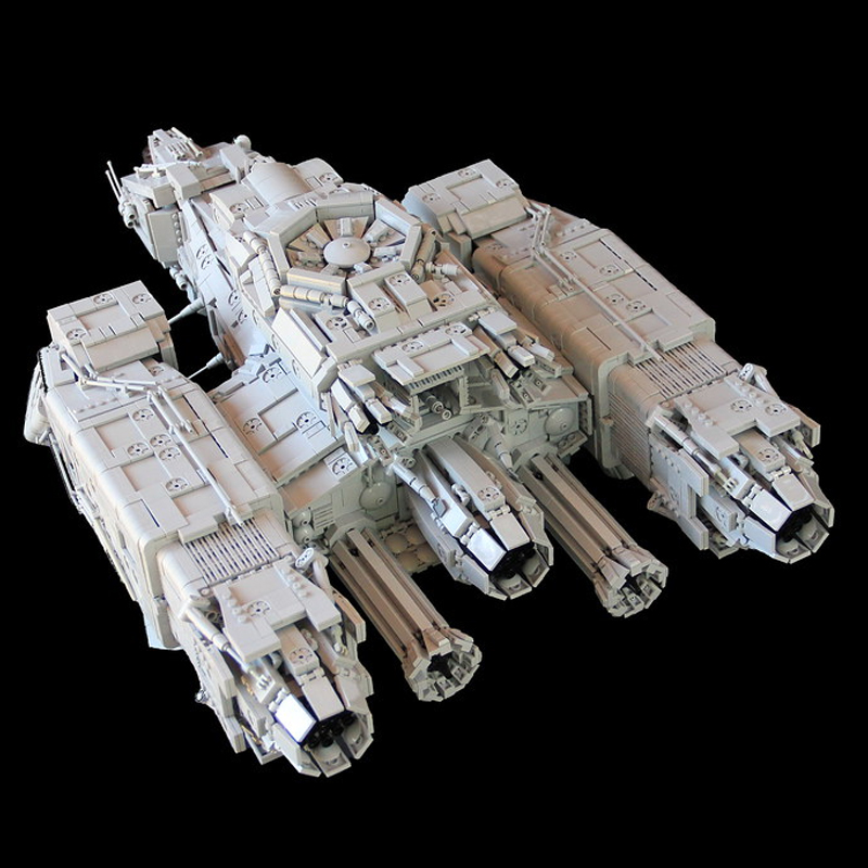 MOC 9803 USCSS NOSTROMO Space by Mihe Stonee MOC FACTORY 3 - MOC FACTORY