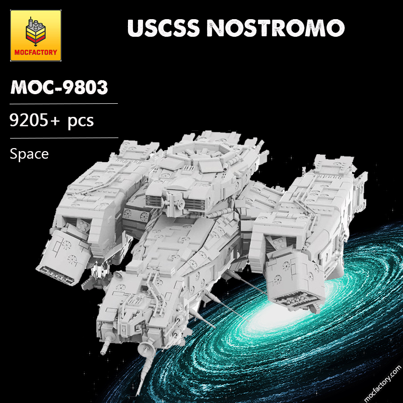 MOC 9803 USCSS NOSTROMO Space by Mihe Stonee MOC FACTORY - MOC FACTORY