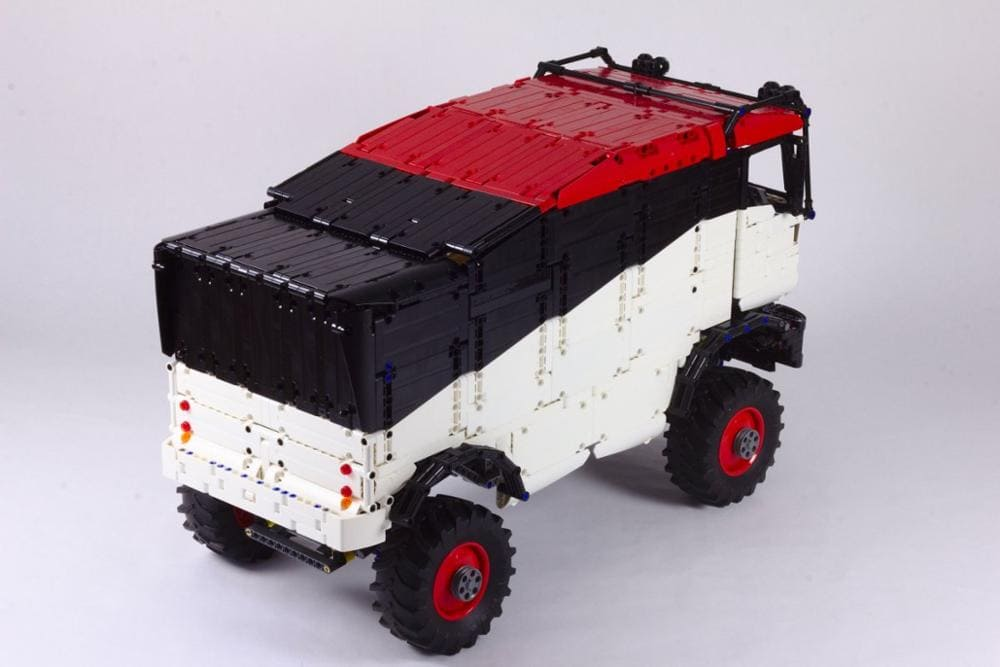 New Legoing technology building block RC cross country truck Dakar truck assembly remote control high difficulty 1 - MOC FACTORY