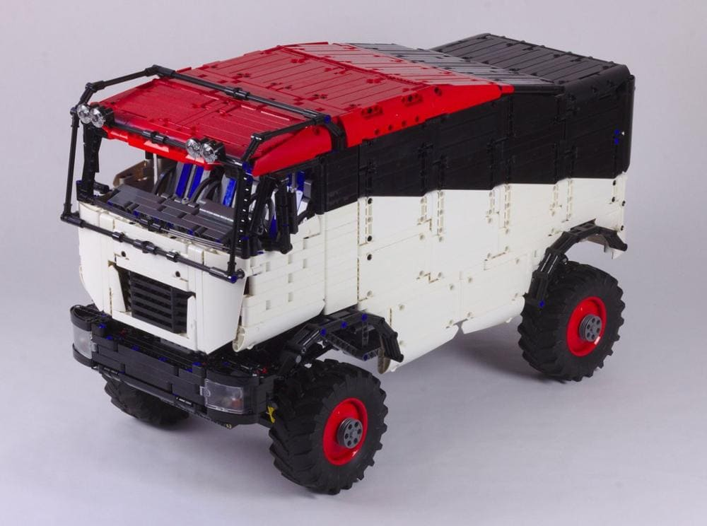 New Legoing technology building block RC cross country truck Dakar truck assembly remote control high difficulty 3 - MOC FACTORY