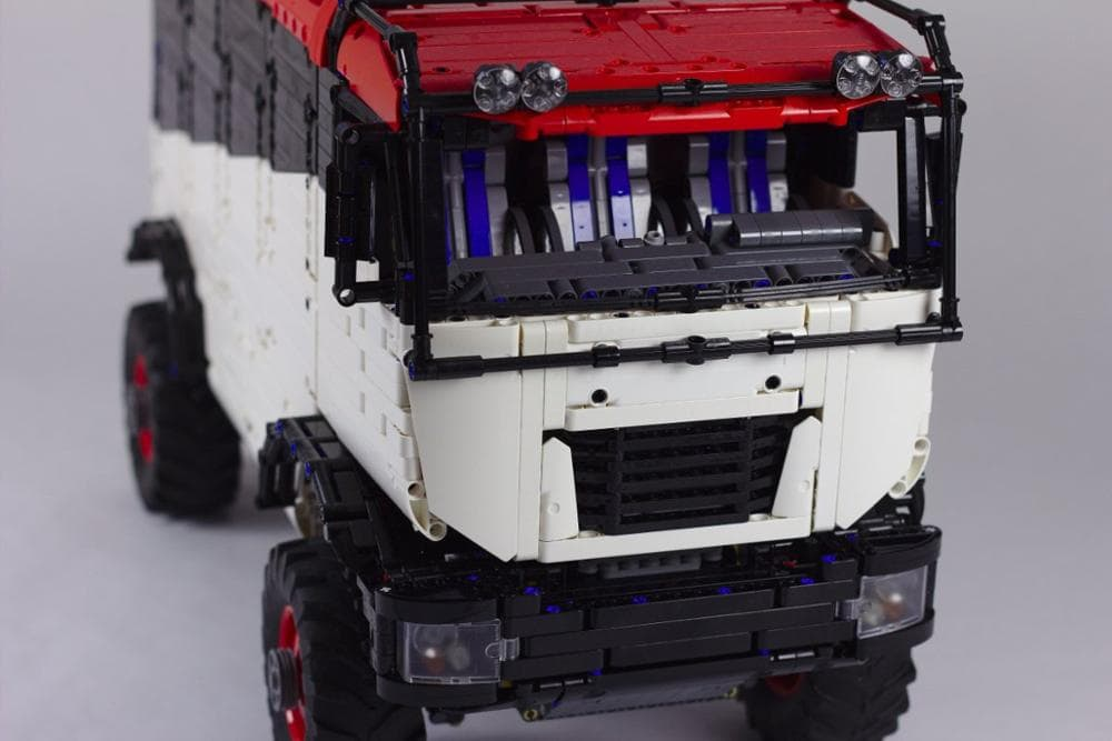 New Legoing technology building block RC cross country truck Dakar truck assembly remote control high difficulty 4 - MOC FACTORY
