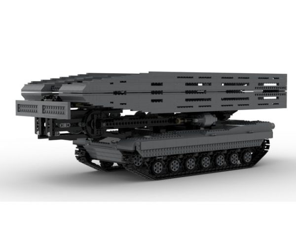 New technology building block moc29526 military ultimate Abrams with bridge layer AVLB remote control tank - MOC FACTORY