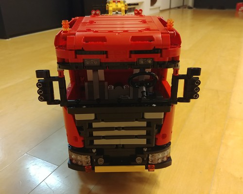moc 0583 scania 8x8 extreme tow truck 2020 2 - MOC FACTORY