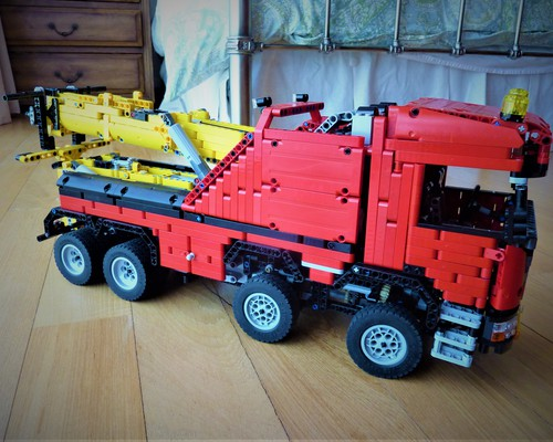 moc 0583 scania 8x8 extreme tow truck 2020 3 - MOC FACTORY