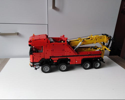 moc 0583 scania 8x8 extreme tow truck 2020 - MOC FACTORY