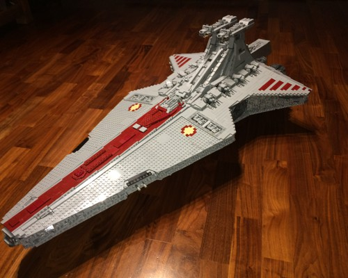 moc 0694 ucs venator republic attack cruiser block set moc factory 1 - MOC FACTORY