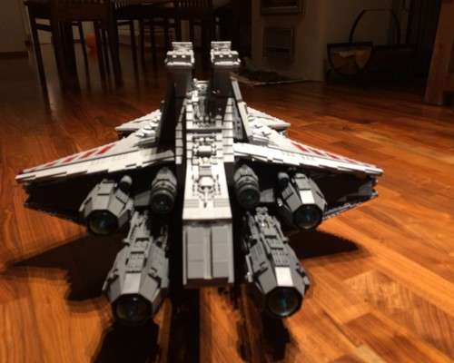 moc 0694 ucs venator republic attack cruiser block set moc factory 2 - MOC FACTORY