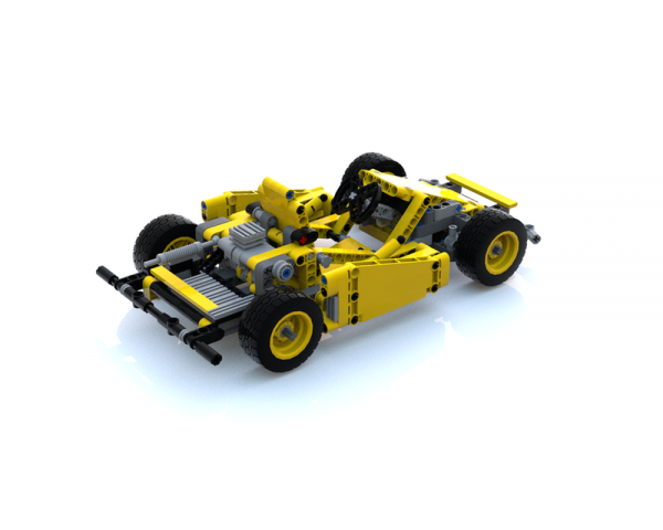 moc 10678 gocart 42035 c model block set moc factory 9 - MOC FACTORY