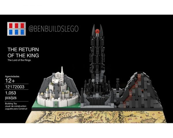 moc 29781 the l0rd of the rings the return of the king block set moc factory - MOC FACTORY
