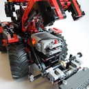 moc 32043 claas xerion red and black block set moc factory 1 - MOC FACTORY