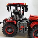 moc 32043 claas xerion red and black block set moc factory 2 - MOC FACTORY