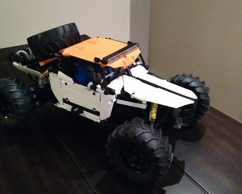 moc 4247 class 1 unlimited buggy 2020 3 - MOC FACTORY