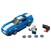 moc 6297 speed champions 75871 ford mustang gt ford gt rebrick block set moc factory 1 - MOC FACTORY