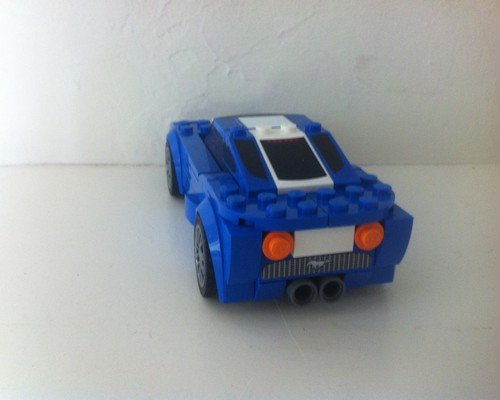 moc 6297 speed champions 75871 ford mustang gt ford gt rebrick block set moc factory 3 - MOC FACTORY