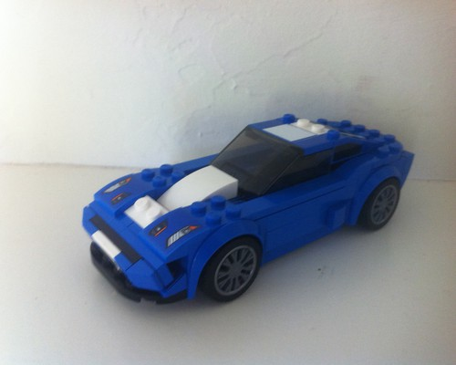 moc 6297 speed champions 75871 ford mustang gt ford gt rebrick block set moc factory 4 - MOC FACTORY