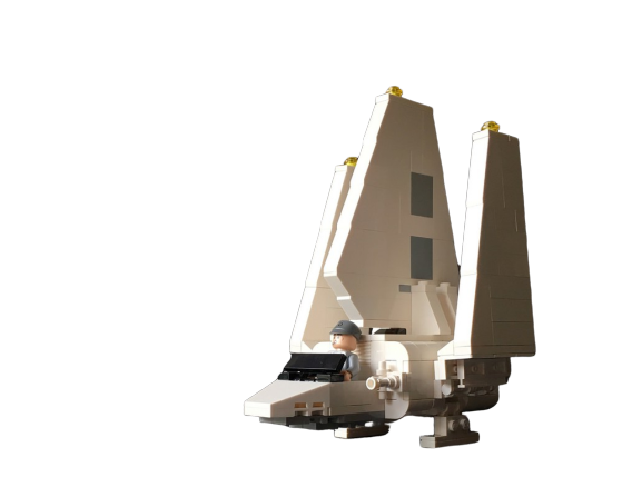 moc 7907 microfighter imperial shuttle block set moc factory - MOC FACTORY
