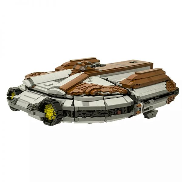 MOC 16083 SW Knights of the Old Republic Ebon Hawk Star Wars by CRCT Productions MOC FACTORY3 - MOC FACTORY