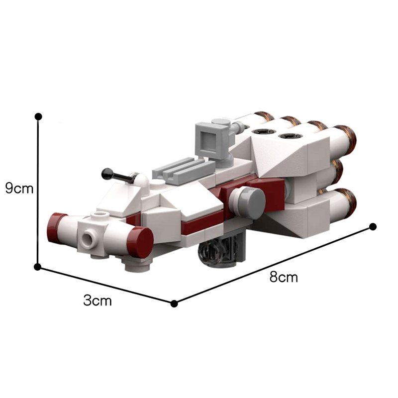 MOC 20584 Tantive IV in UCS ISD Scale Star Wars by RobertBrick MOC FACTORY 2 - MOC FACTORY
