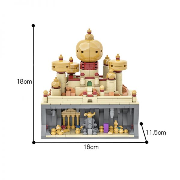 MOC 29611 Aladdin skyline Movie by benbuildslego MOC FACTORY 2 - MOC FACTORY