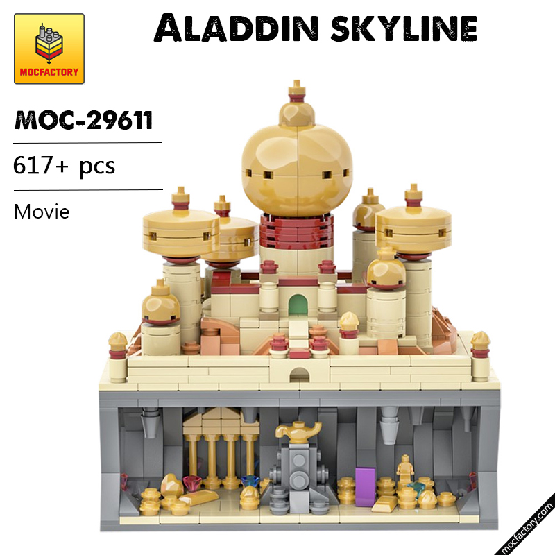 MOC 29611 Aladdin skyline Movie by benbuildslego MOC FACTORY - MOC FACTORY