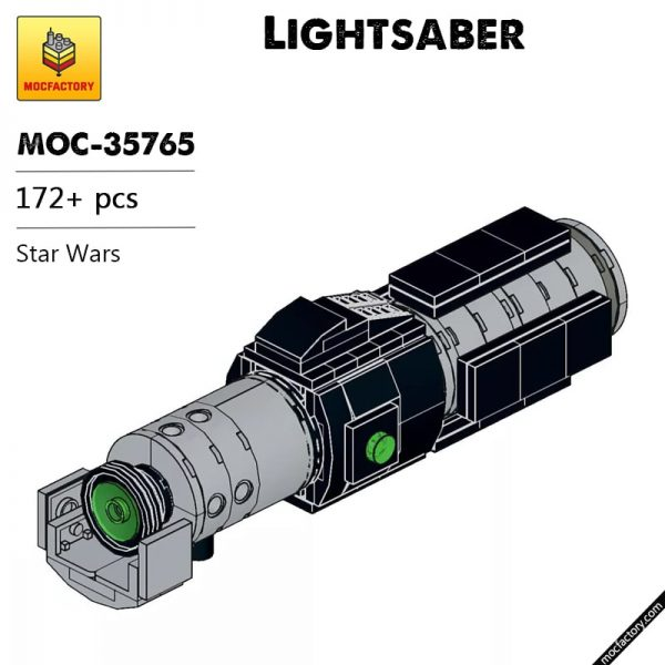 MOC 35765 Lightsaber Star Wars by built bricks MOC FACTORY - MOC FACTORY