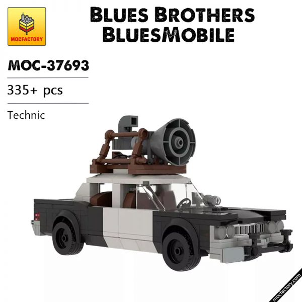 MOC 37693 Blues Brothers BluesMobile Technic by M4rchino84 MOC FACTORY - MOC FACTORY