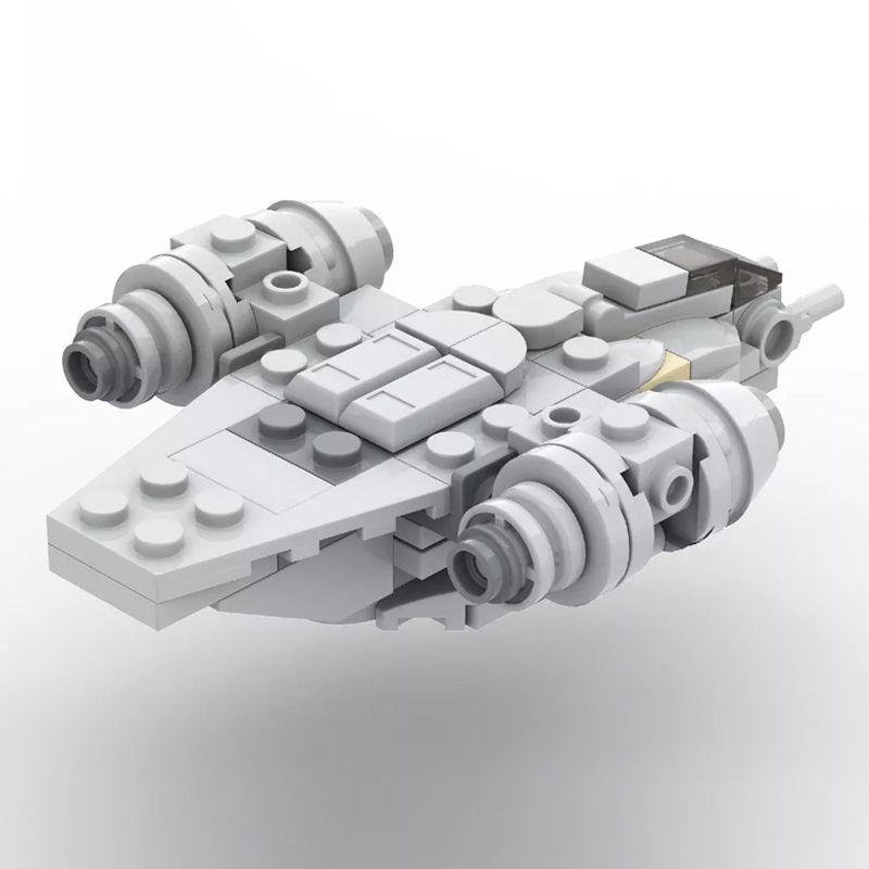 MOC 38715 Micro Razor Crest Star Wars by ron mcphatty MOC FACTORY 3 - MOC FACTORY