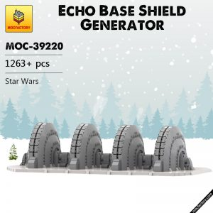MOC 39220 Echo Base Shield Generator Star Wars by papaglop MOC FACTORY - MOC FACTORY