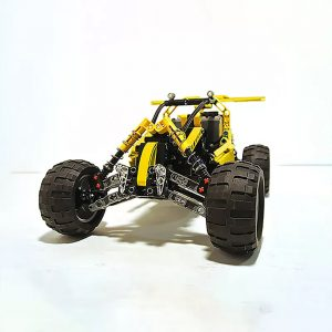 MOC 3929 Lime Buggy Technic by Proto MOC FACTORY 3 - MOC FACTORY
