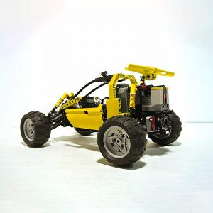 MOC 3929 Lime Buggy Technic by Proto MOC FACTORY 4 - MOC FACTORY