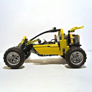 MOC 3929 Lime Buggy Technic by Proto MOC FACTORY 5 - MOC FACTORY