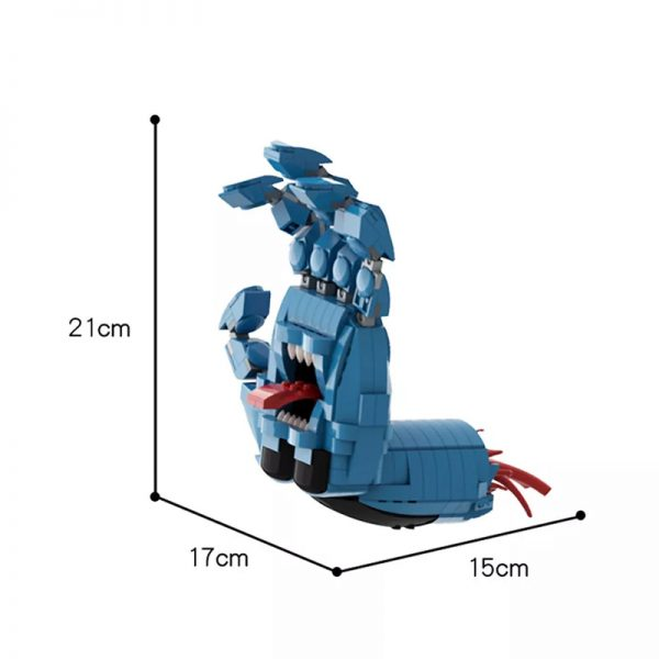 MOC 41630 Screaming Hand Creator by Brick Flag MOC FACTORY 2 - MOC FACTORY