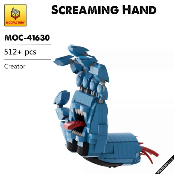 MOC 41630 Screaming Hand Creator by Brick Flag MOC FACTORY - MOC FACTORY
