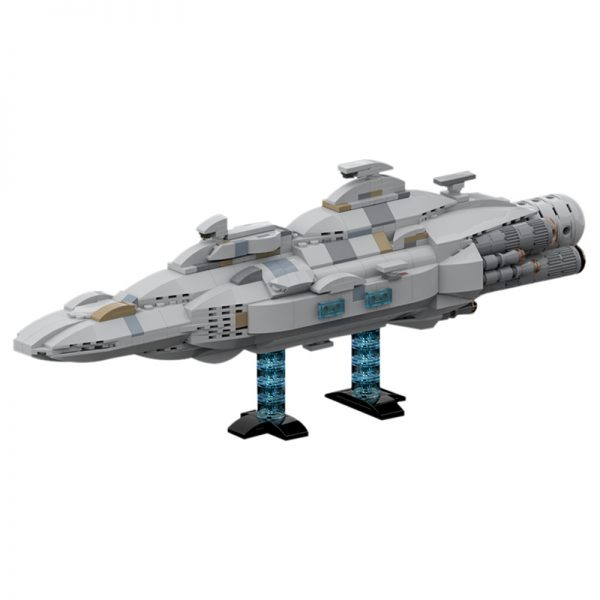 MOC 44432 Mon Calamari MC80 Home One type Star Cruiser Star Wars by Red5 Leader MOC FACTORY 2 - MOC FACTORY