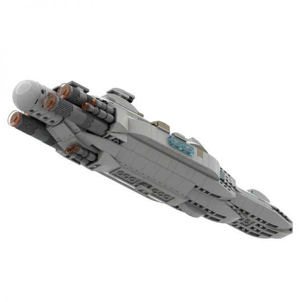 MOC 44432 Mon Calamari MC80 Home One type Star Cruiser Star Wars by Red5 Leader MOC FACTORY 3 - MOC FACTORY