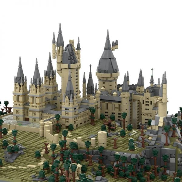 MOC 45950 Harry Potter Hogwarts Castle Epic Detailed Build Movie by citizenfive MOC FACTORY 4 - MOC FACTORY