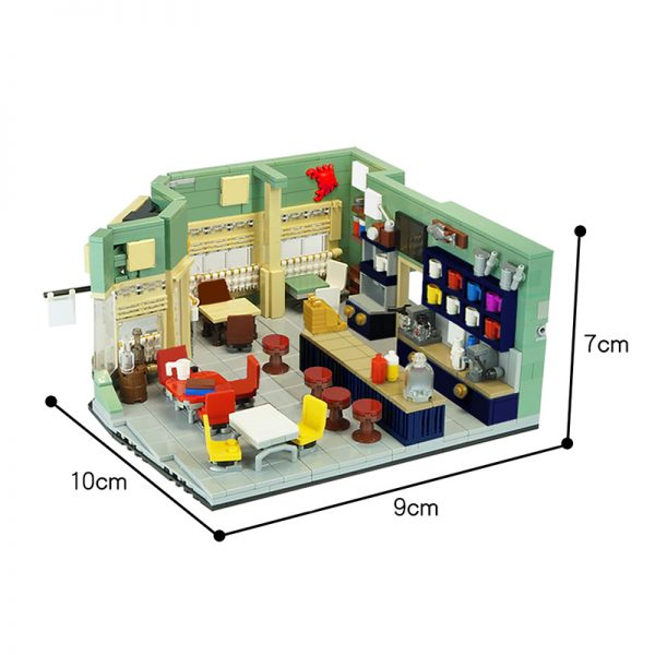 MOC 46310 Gilmore Girls Lukes Diner Movie by Versteinert MOC FACTORY 2 - MOC FACTORY