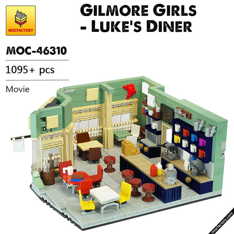 MOC 46310 Gilmore Girls Lukes Diner Movie by Versteinert MOC FACTORY - MOC FACTORY