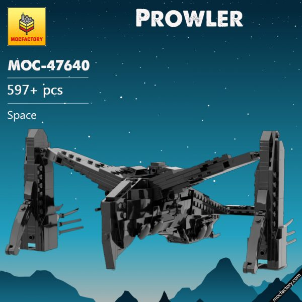 MOC 47640 Prowler Space by TheRealBeef1213 MOC FACTORY - MOC FACTORY