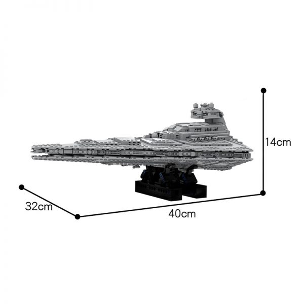 MOC 48106 Imperial Star Destroyer Star Wars by Red5 Leader MOC FACTORY 3 - MOC FACTORY