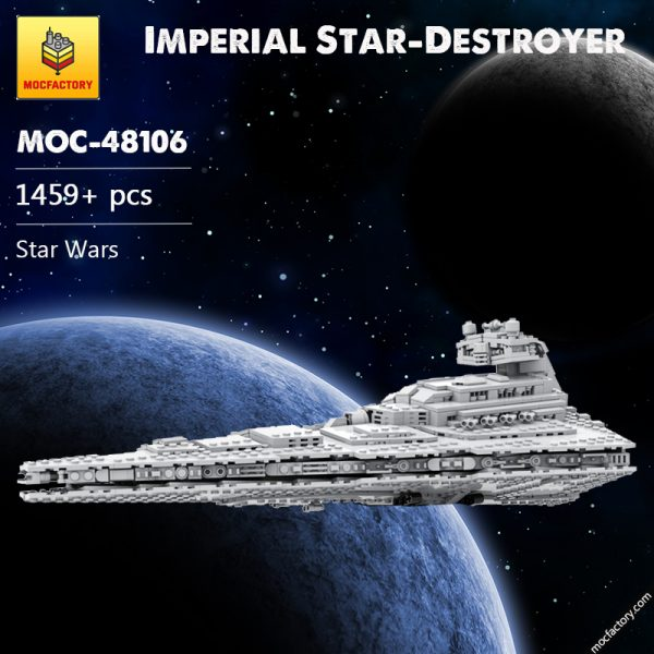 MOC 48106 Imperial Star Destroyer Star Wars by Red5 Leader MOC FACTORY - MOC FACTORY