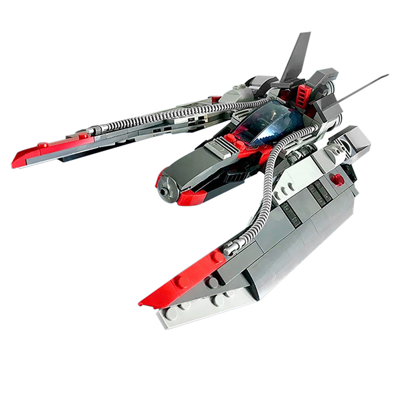 MOC 48831 Star Fighter Space Ship Space by MadMocs MOC FACTORY 2 - MOC FACTORY