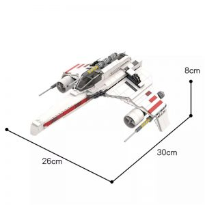 MOC 50114 E Wing Starfighter Star Wars by NeoSephiroth MOC FACTORY 2 - MOC FACTORY